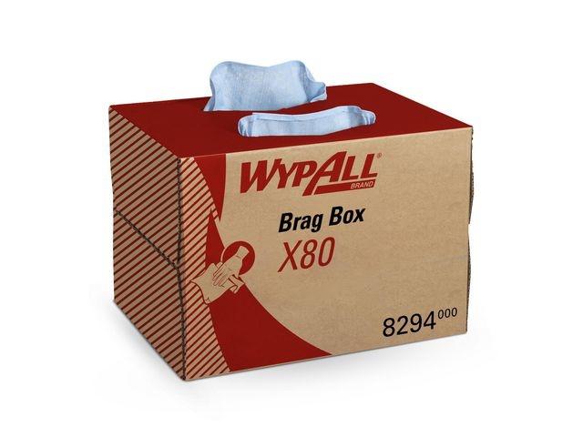 Wypall* Poetsdoek Wypall X80 1L bl/ds160vel