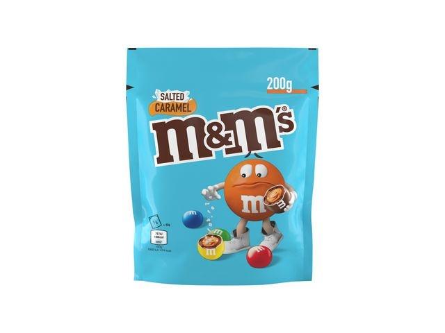 M&M'S Chocoladesnack M+M's salt caramel 200gr