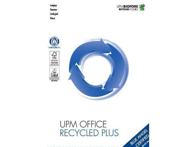 UPM office Papier UPM recycled A4 80g/doos 2500v