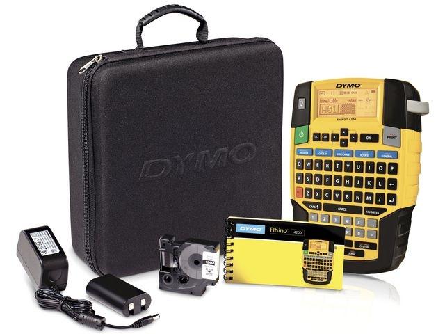 Dymo Labelmaker Dymo Rhino 4200 Kit QWERTY