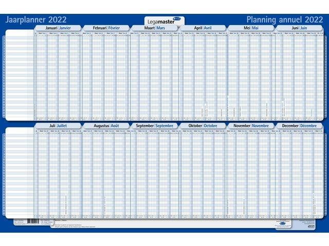 Legamaster Jaarplanner Lega Projecten 60x90 2022