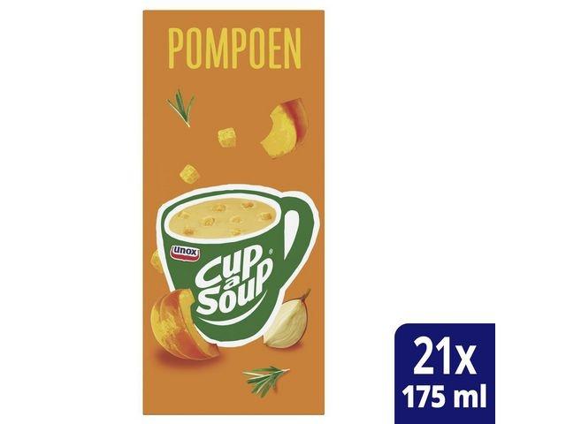 Unox Soep Cup-a-soup Pompoen 175ml/pk21