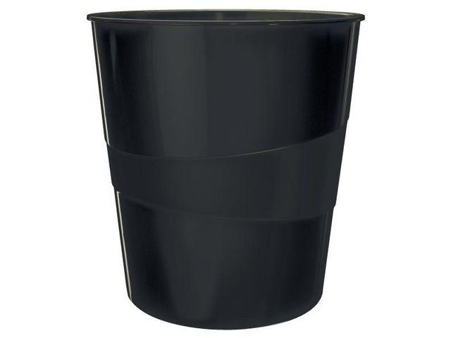Leitz Prullenbak Leitz recycled 15l zwart