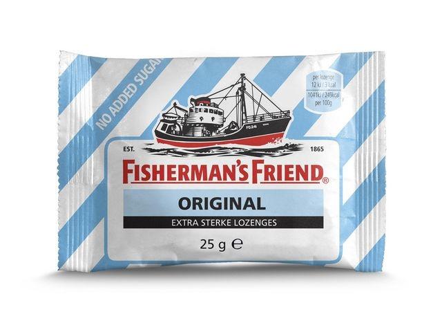 Fisherman's Friend Keelpastilles Fish. Friend or./ds24x25g