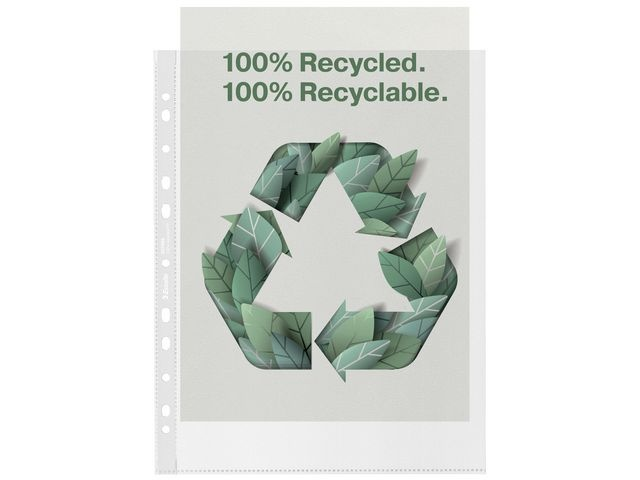 Esselte Showtas recycled A4XL 11R 0.07 PP/pk100