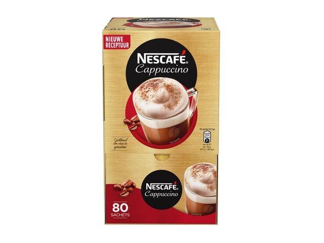 Nescafé Oploskoffie Nescafe cappuccino 12g/pk80