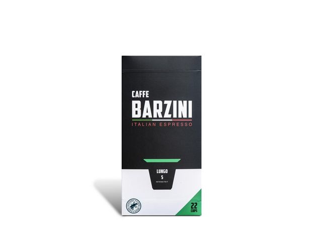 BARZINI Koffie capsules Barzini Lungo RFA/pk6x22
