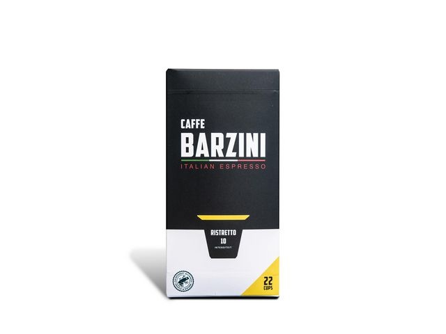 BARZINI Koffie capsules Barzini Ristr RFA/pk6x22