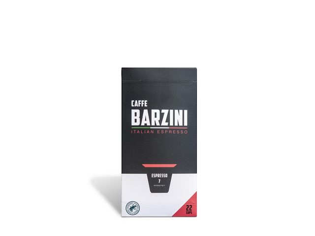 BARZINI Koffie capsules Barzini Espr. RFA/pk6x22