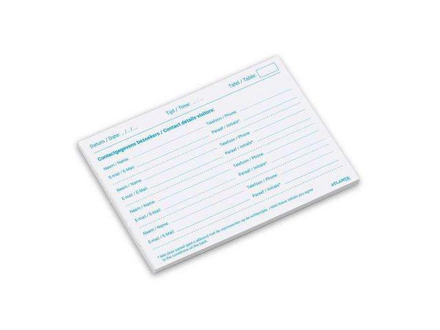 ATLANTA Horecaregistratieformulier A6/pk2x100v