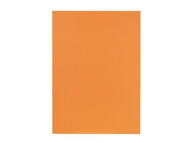 FALKEN Vouwmap Falken A4 oranje/pk100