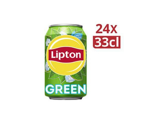 Lipton Frisdrank ice tea green 0.33L blik/pk24