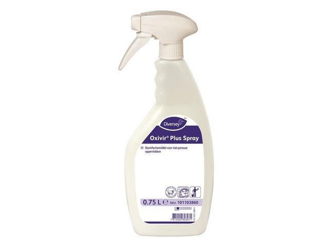Diversey Desinfectiespray DI Oxivir Pl./ds6x750ml