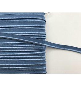 2m elastisches Paspelband Blau 10mm