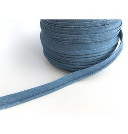 2 Meter Paspelband Denim Hellblau 10mm