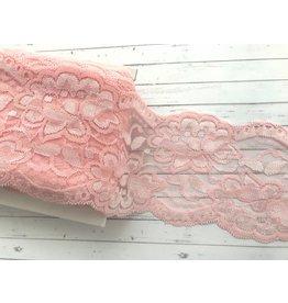 1m elastische Spitze  90mm  Rosa