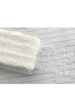 1m elastische Spitze  90mm Ivory