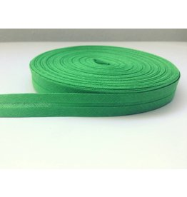 3 Meter Einfassband Uni Grün 14mm Baumwolle