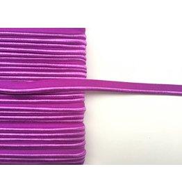 2m elastisches Paspelband leuchtendes Violett 10mm