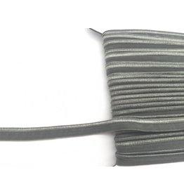2m elastisches Paspelband Khaki 10mm