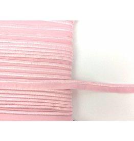 2m elastisches Paspelband Babyrosa 10mm