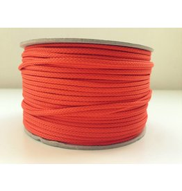 5m Polyesterkordel 4mm Orange