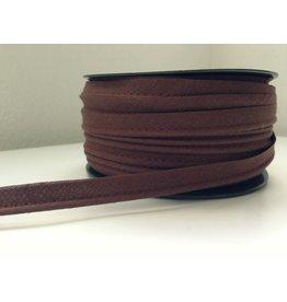 2 Meter Paspelband  Braun  12mm