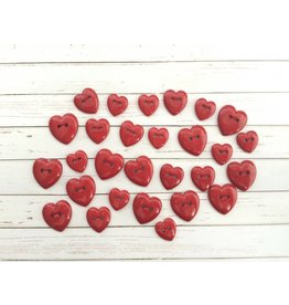Hearts...Red   Knopfmischung