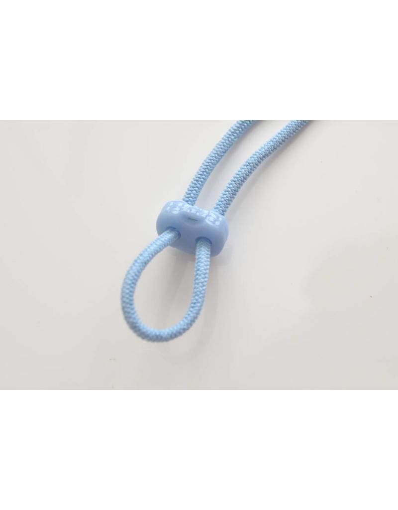 10 Stück Kordelstopper Hellblau