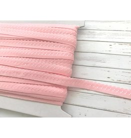 2m elastisches Einfassband  Hellrosa 11mm