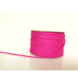 5m Polyesterkordel 4mm Pink