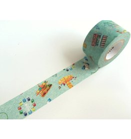 Maste Washi Masking Tape Amusement park 20mm x 7m