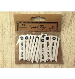 20x THANK YOU   Eyelet Tags