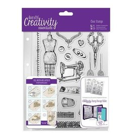 Papermania Clear Stamps Sets  Haberdashery  A5