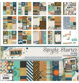 Simple Stories So Rad Collecttion Kit 12x12 Simple Stories