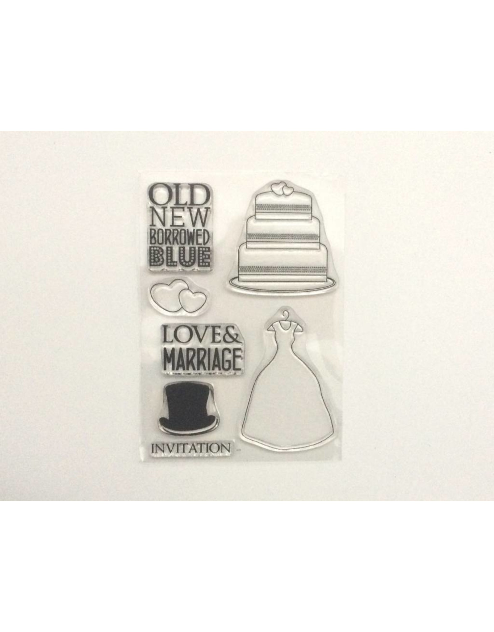 Clear Stamps Sets   Love & Marriage