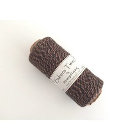 Hemptique Bakers Twine 125m  Braun-Schwarz