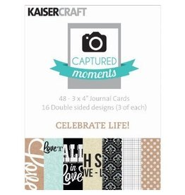 Kaisercraft Kaisercraft Journaling Cards 3x4 Celebrate Life!