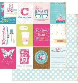 Websters  Pages Around the House Cardstock 12x12 Webster`s Pages