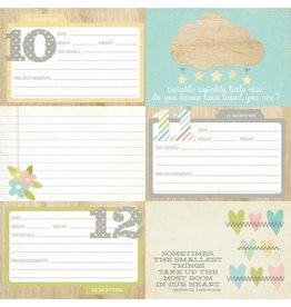 "Simple Stories Hello Baby - 4x6 Horizontal Journaling Cards ""2"