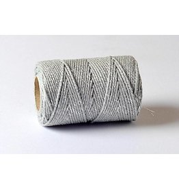 Bakers Twine 100m  Silber