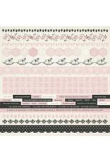 Kaisercraft Kaisercraft Baby Girl Sticker Sheet 12x12