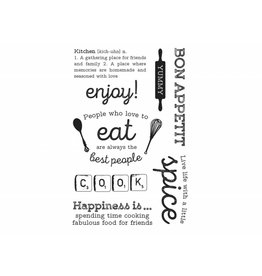 Kaisercraft Clear Stamps Set  Bon Appetit von Kaisercraft