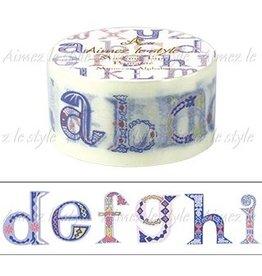 Aimez le style Aimez le style Washi Tape Moroccan Alphabet