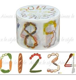 Aimez le style Aimez le style Washi Grocery Numbers