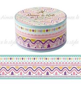 Aimez le style Aimez le style Washi Tape Aztec Pattern