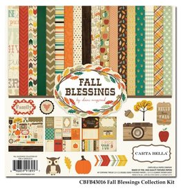 Carta Bella Carta Bella Fall Blessings 12x12 Inch Collection Kit