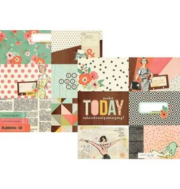 Simple Stories The Reset Girl Horizontal Journaling Elements 4x6
