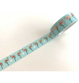 Washitape Flamingo Copper Foil 15 mm x 5 m