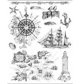 Silikon Stempel Set At the Seaside
